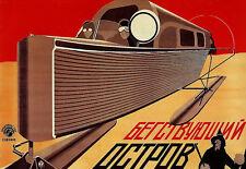 Russian Propeller - Ski Boat Advert - Travel Vacation A3 Art Poster Print