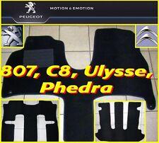 Satz Fußmatten PEUGEOT 807, Citroen C8, FIAT Ulysse, Lancia Phedra 3-teilig NEU