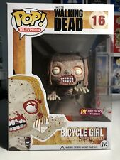 Funko POP! The Walking Dead-Vélo Fille PX Previews (Bloody Edition) RARE