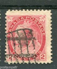 CANADA, 1898-1903, timbre CLASSIQUE n° 65, VICTORIA, oblitéré, used stamp