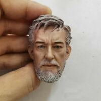 Delicate Hot 1/6 Scale Star Wars: Episode III Obi-Wan Kenobi B Style Head Sculpt