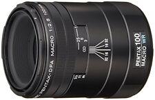 Pentax Monofocal Macro Lens Drip Proof D Fa Macro 100Mmf2.8 Wr K Mount Full- F/S