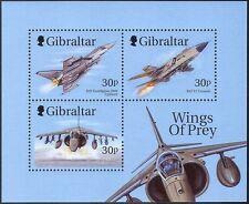 """Gibraltar 1999 """"Wings of Prey""""/Militar Aviones/Avión/Aviación 3v m/s (n42152)"""