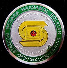 Sultan Hassanal Bolkiah Stadium Brunei Darussalam September 23,1983 Pin Badge RR