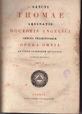 sancti thomae aquinatis-opera omnia tomus IV - 1854 - armspogl