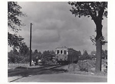 Photo / REPRO Montre TRAIN AVANT Station Buckow plupart wildmeisterdamm 1950