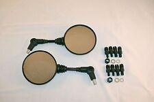 KTM Folding mirrors 225mm Dual Sport mirrors Universal 8mm and 10mm mounts Pair