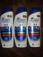 3 x 3oz HEAD & SHOULDERS MEN 2-IN-1 SHAMPOO CONDITIONER OLD SPICE PURE SPORT