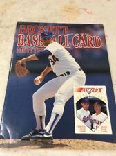 Beckett Baseball Magazine Monthly Price Guide October 1989 Nolan Ryan