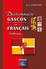 Dictionnaire gascon(béarnais)-français 25.000 mots — Eric Chaplain