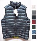 UNIQLO Men 2017 Ultra Light Down Vest w/ Pouch Choose Colors New