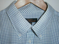 Ben Sherman Men's Check Fitted Button Down Casual Shirts & Tops