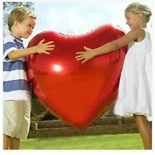 """36"""" Big Red Heart Love Foil Helium Balloons Valentines Wedding Engagement Party"""