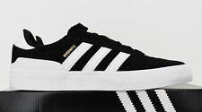 NIB ADIDAS Men's Busenitz Vulc II Black Gold White Low Top Sneakers Tennis Shoes