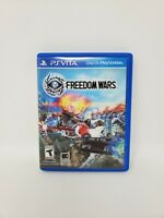 Freedom Wars (Sony PlayStation Vita, 2014) Tested and Works