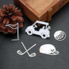 Golf Set Metal DIY Cutting Dies Stencil Paper Card Scrapbooking Embossing Crafts