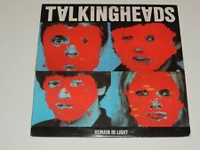 TALKING HEADS remain in light Lp RECORD SRK-6095 ONCE IN A LIFETIME 1980