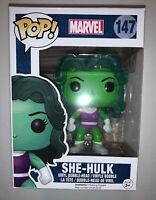 Funko Pop! Marvel Series She-Hulk #147 Vinyl Figure Bobble-Head