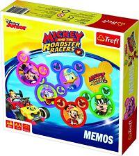 Trefl Enfants Disney Mémos Mickey & the Roadster coureurs cartes Jeu de Société