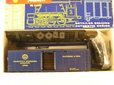 ROUNDHOUSE HO #1088, BALTIMORE & OHIO ROUNDTOP 40' BOX CAR #1900, NOS KIT