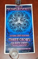 Grateful Dead Artist Michael Everett Art Print Poster 2007 Three Crows Minnesota