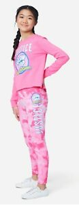 NWT Girls Justice Blow Pop Candy Sweatshirt/Joggers Size 10