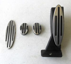 Genuine Used MINI Manual Silver Pedal Set for R56 R55 R57 - 6770152