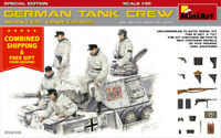 Miniart 35249 German Tank Crew Winter Uniforms 1/35 Scale Special Edition Model