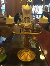 Disney Parks Beauty & The Beast Lumiere light up candlestick New 10""