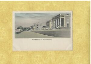 X South East Africa MOZAMBIQUE 1908-29 vintage postcard GOVERNMENT BUILDINGS