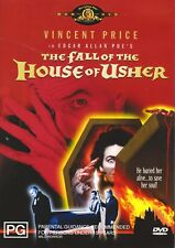 The Fall of the House of Usher (1960) DVD Vincent Price-Mark Damon-Myrna Fahey