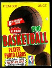 Fleer 1990 5th Anniversary Edition Basketball Cards