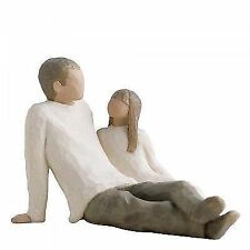 Willow Tree Father and Daughter Figurine No 26031