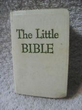 THE LITTLE BIBLE 1964 VINTAGE Book Published by David C. Cook Publishing Co.