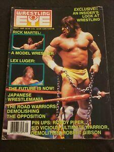 💥1️⃣9️⃣9️⃣0️⃣ Wrestling EYE Magazine September Ultimate Warrior vintage WWF WWE