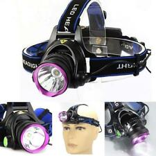 3000 Lumen XM-L T6 LED Rechargeable Headlamp Headlight Head Torch Lamp Light MT