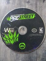 Need for Speed: ProStreet Nintendo Wii Game Pre Owned Tested Working Disc Only