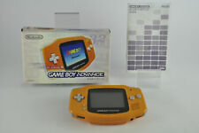 Gameboy Advance Orange Boxed - used