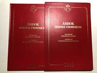 1989 Folder Yearbook Jahrbuch Libro Arbok Norway Norvegia Norge Complete + Box