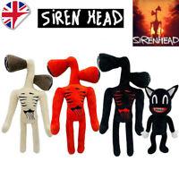 16'' Siren Head Plush Figure Toy Soft Stuffed Horror Doll Kids Christmas Gift UK