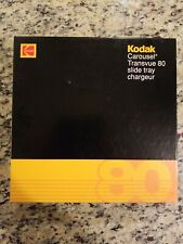 1983 Kodak Transvue 80 Slide Tray Carousel Projector Photo USED W/ ORIGINAL BOX
