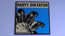 Party Diktator Worldwide Dead Eye Productions 1992 Germany LP