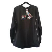 NEW Florida Marlins MLB Majestic Authentic Therma Base Tech Fleece Black XL