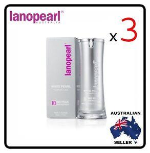 [ lanopearl ] 3 x Lano pearl White Pearl Treatment Lotion (LB39) 30ml