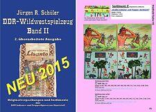 (0002) DDR Wildwestkatalog OVP, Indianer & Cowboy-OVP, NEU 2015, Band 2