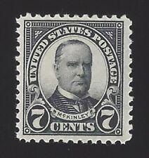 Us #559 1922-25 Black Perf 11 Unwmk Mnh Vf Scv $17