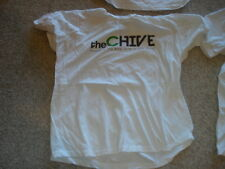 KCCO THE CHIVE WHITE XL EXTRA LARGE T SHIRT SS SHORT SLEEVE