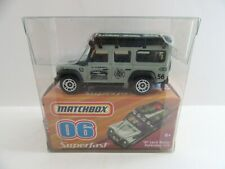 2008 Matchbox Superfast No.6 '97 Land Rover Defender 110 - Mint/Boxed