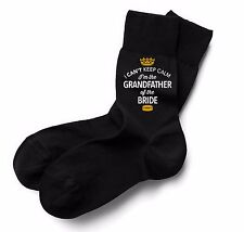 Father of the Bride Socks Wedding Keepsake Gift Stag Party Present Cold Feet Him