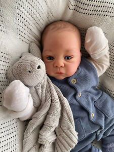 Reborn Cuddle Baby Boy ~ Reborn By Me